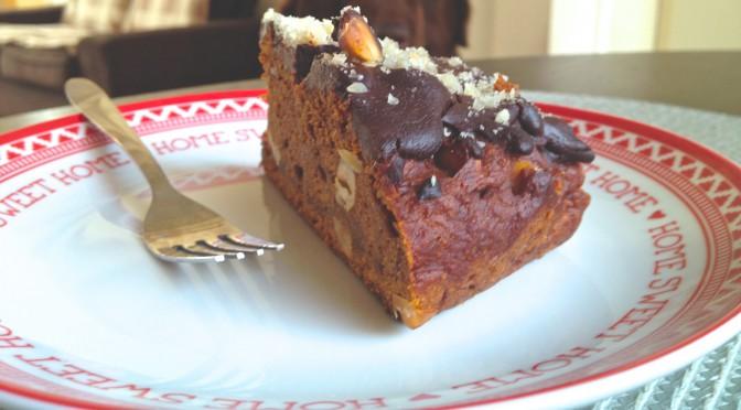 Ciasto dyniowo – czekoladowe